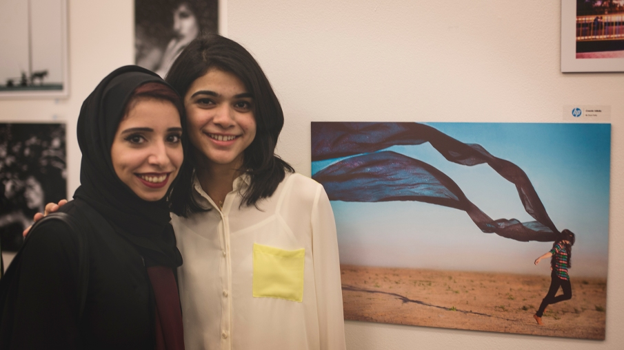 Got to meet Zoya Tariq, a great conceptual photographer and super sweet human being