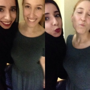 "This was after the workshop, I was so excited I was telling everyone ""I took selfies with Brooke Shaden!"""
